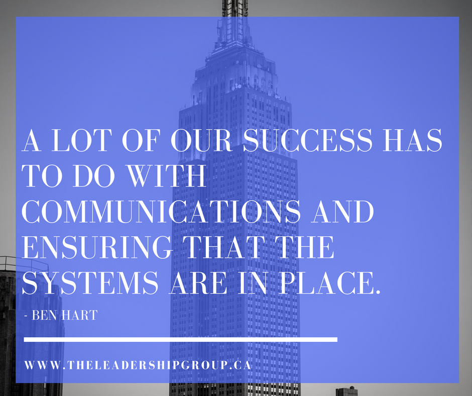 A lot of our success has to do with communications and ensuring that the systems are in place..png