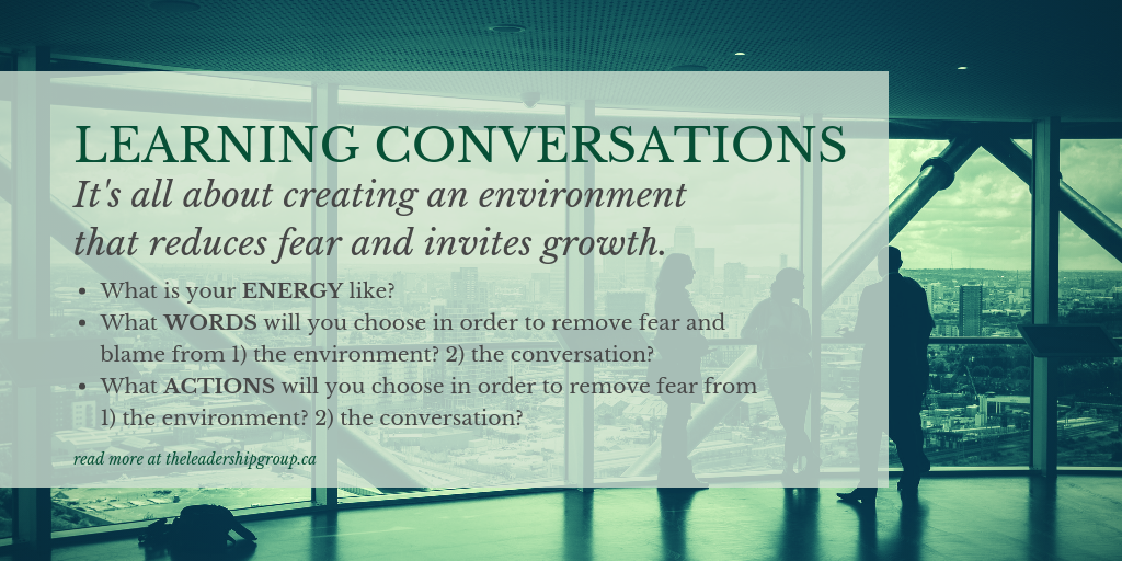 learning conversations Canva